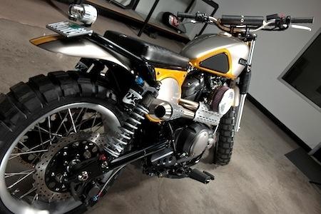 Yamaha Yard Built: la SCR950 vue par Jeff Palhegyi Designs
