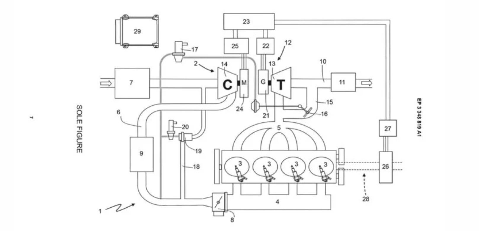 ferrari d u00e9pose un brevet pour un dr u00f4le de moteur