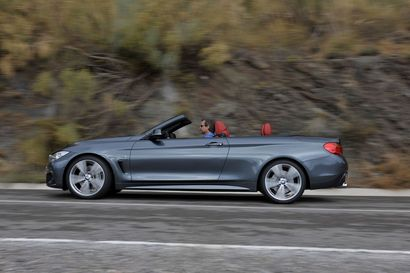 La BMW Série 4 cabriolet dévoilée