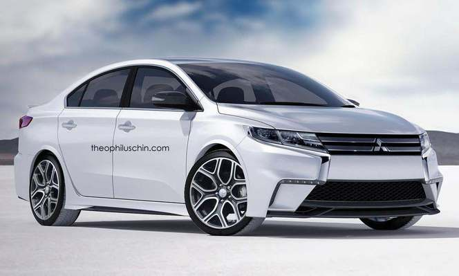 Future Mitsubishi Lancer : comme ça ?