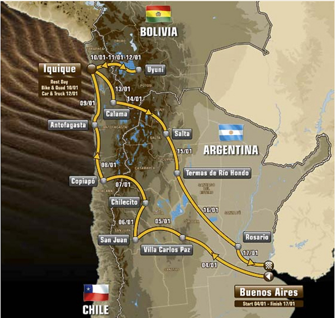 Dakar 2015 : ça démarre aujourd'hui