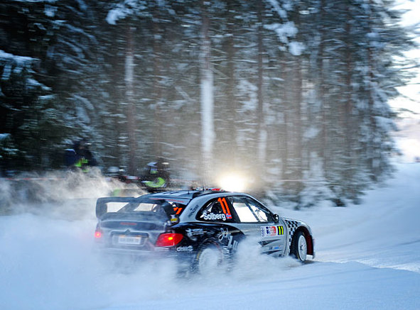 WRC Norvège ES1 : Petter Solberg les tape tous !