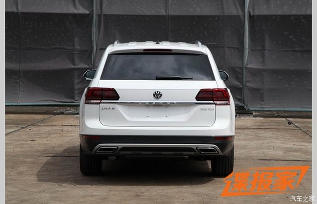 Surprise : voici le Volkswagen Teramont