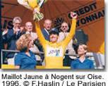 Frédéric Montcassin : L'ancien maillot  jaune vit sa passion pour la course
