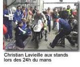 Christian Lavieille : le motard qui   aimait les Porsche