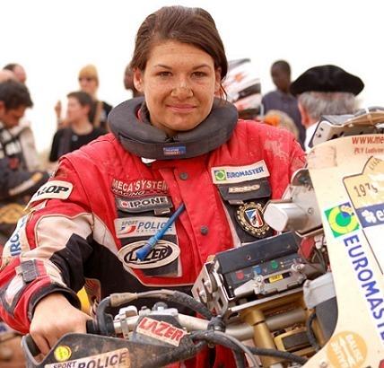 Ludivine Puy championne d'Europe d'enduro