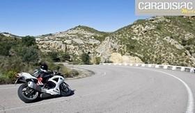 Essai Michelin Power Pure : le pneu en dynamique.