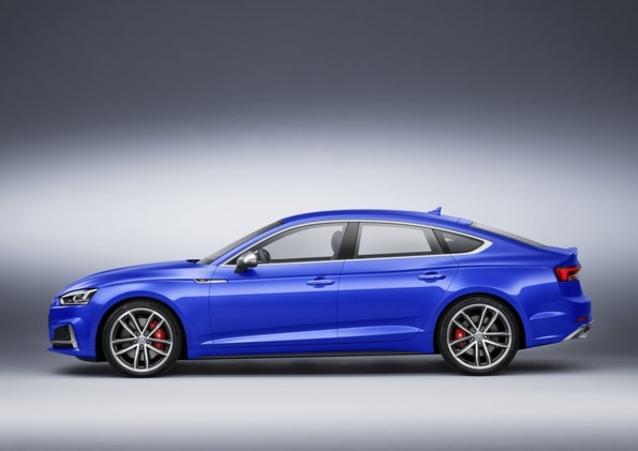 La nouvelle S5 Sportback et son V6 de 354 ch, avant l'arrivée de la future RS5...