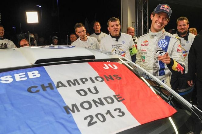 WRC : Sébastien Ogier et Julien Ingrassia fêteront leur titre le 9 novembre à Gap