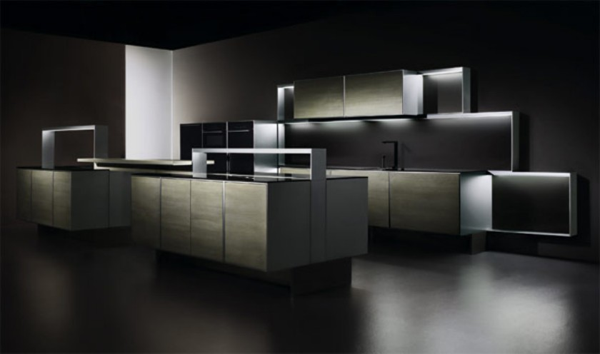 porsche design p7340 la cuisine de luxe. Black Bedroom Furniture Sets. Home Design Ideas