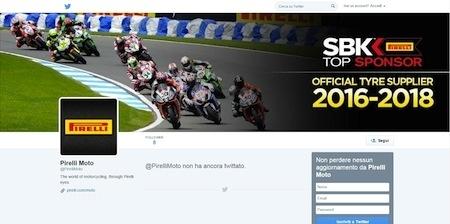 Pirelli Moto déboule sur Twitter