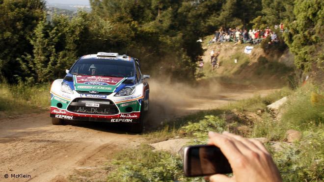 WRC Acropole Jour 1  : Petter Solberg profite