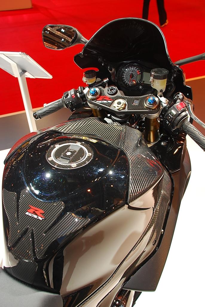 Salon de la Moto 2007 en direct : Suzuki GSX-R 1000