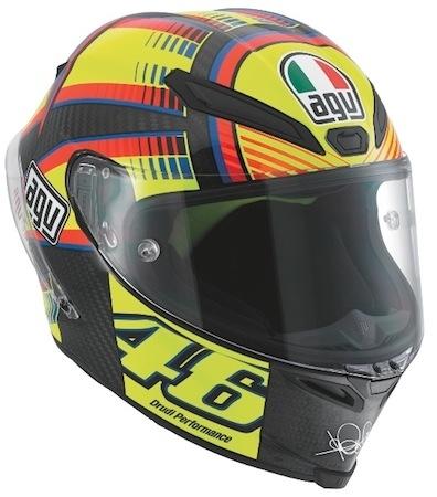 AGV GP Pista Soleluna: série limitée du n°46