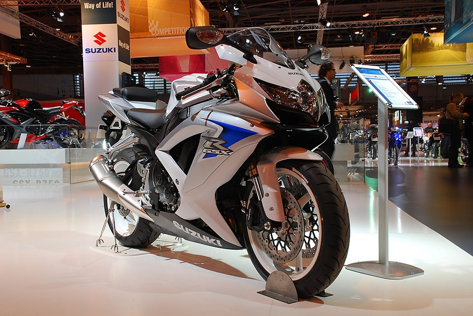 Salon de la Moto 2007 en direct : Suzuki GSX-R 600