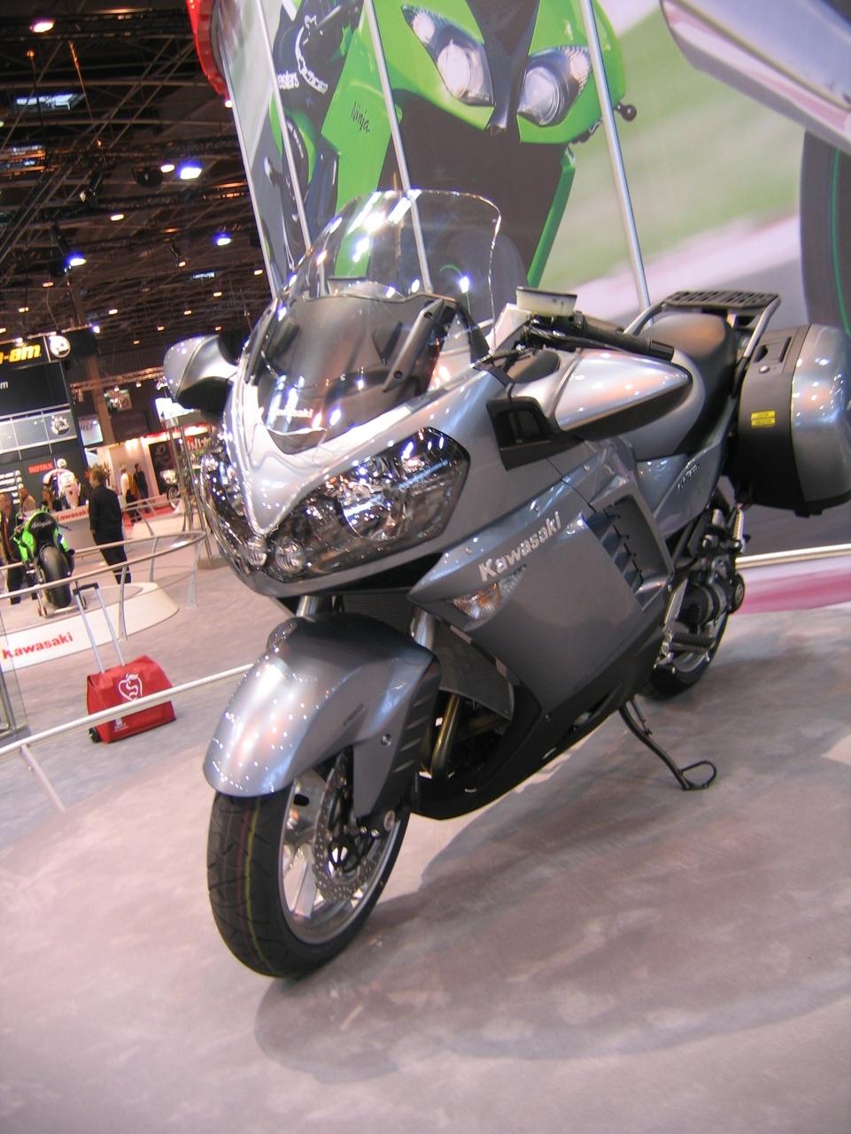 En direct du Salon de la moto 2007 : Kawasaki nous gâte…