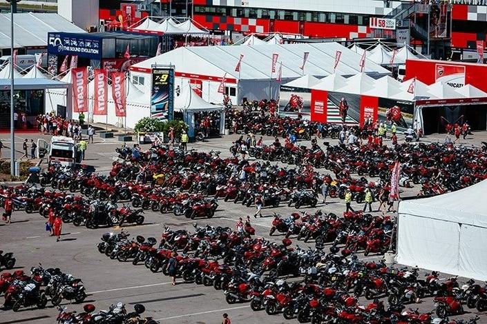 Ducati: les cinq continents représentés au WDW.