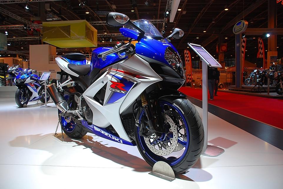 Salon de la Moto 2007 en direct : Suzuki GSX-R 750