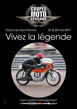 Coupes Moto Légende 2017 les 27 et 28 mai: les inscriptions sont ouvertes.