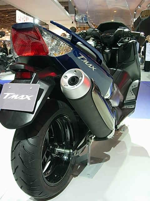 Salon de la moto 2007 en direct : TMAX 500 ABS