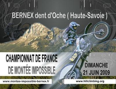 Montée impossible en Haute Savoie à Bernex