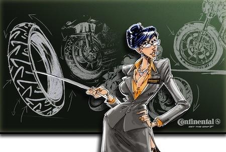 Continental & Gurel, épisode 6: le pneu en 10 leçons