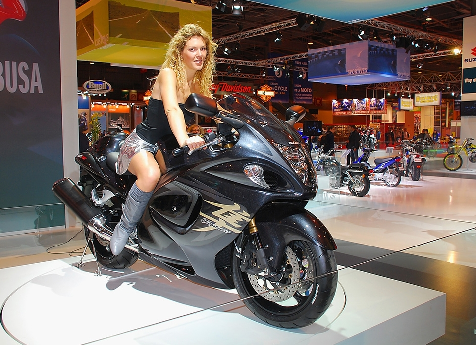 Salon de la Moto 2007 en direct : Suzuki GSX-R 1300 Hayabusa