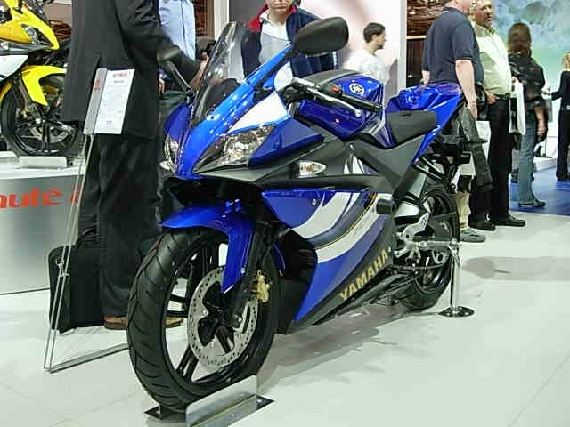 En direct du salon 2007 : Yamaha YZF-R125, étonante !