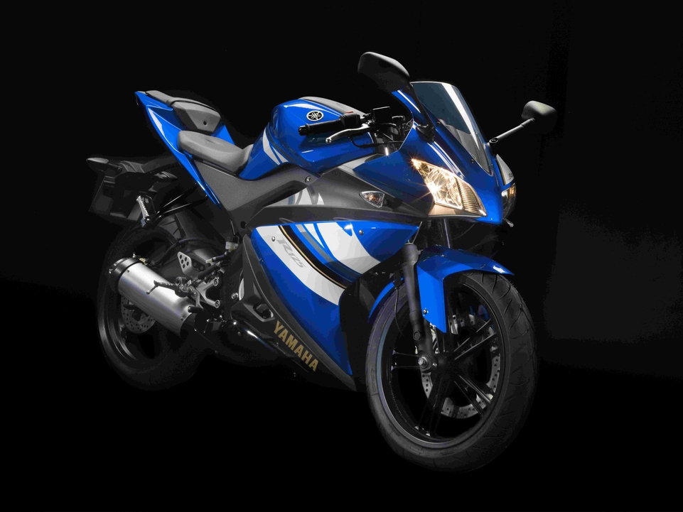 En direct du salon 2007 : Yamaha YZF-R125, étonante !
