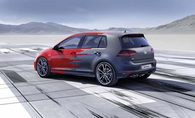 Volkswagen Golf R Touch Concept : tactile