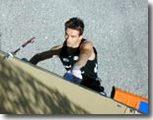 Le champion d'escalade   François Legrand