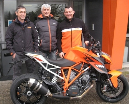 Dark Dog Rallye Moto Tour 2015: Filleton et Derrien sur KTM