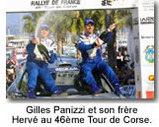 """Gilles Panizzi : """"La vitesse me fait peur,   surtout sur route ouverte !"""""""