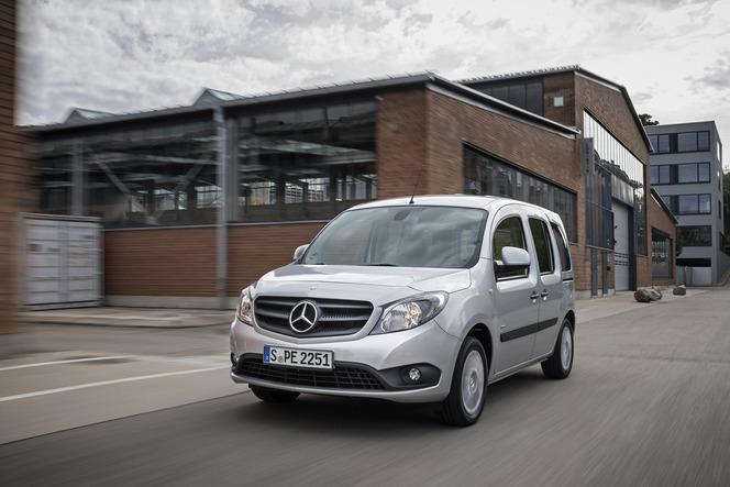 Nouveaux moteurs et nouvelle variante longue pour le Mercedes Citan