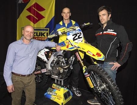 Bihr : le partenariat avec le team Suzuki MXGP reconduit en 2017