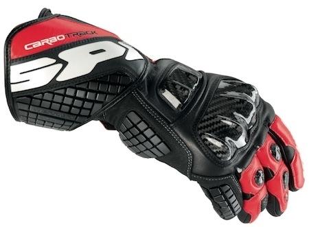 Spidi Carbo Track: des gants avec des morceaux de dorsale dedans