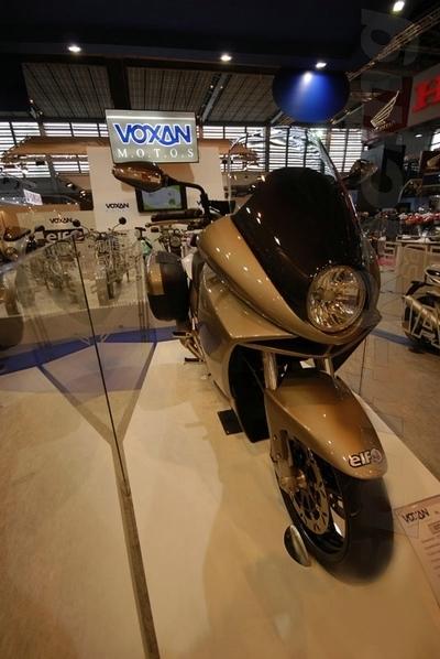 Salon de la moto 2007 : Voxan n'est pas mort, vive la GTV 1200