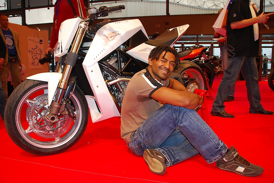 "Salon de la Moto 2007 en direct : Proto Yacouba ""Bestiale"""