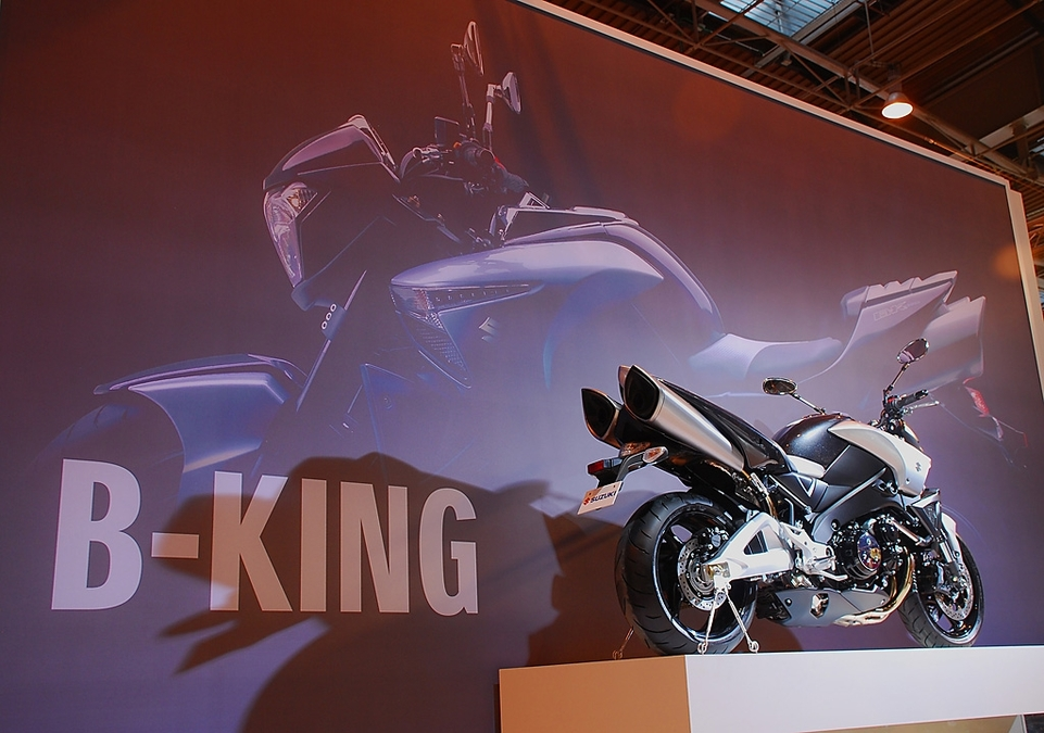 Salon de la Moto 2007 en direct : Suzuki 1300 B-King