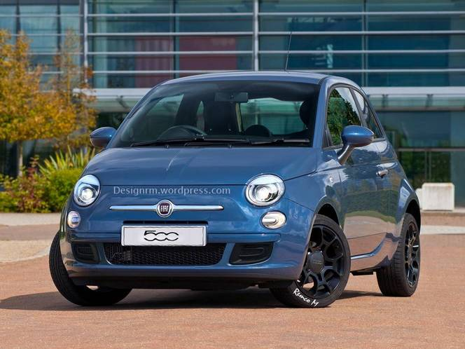 Fiat 500 restylée : comme ça ?