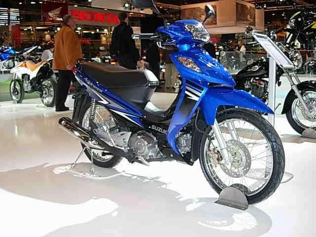 En direct du salon de la moto 2007 : Adress 125, moto ou scooter ?