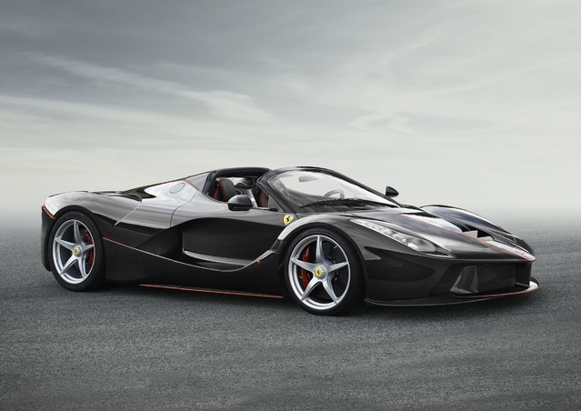Ferrari LaFerrari Aperta ou Spider