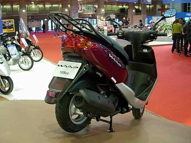 En direct du salon de la moto 2007: MBK Waap