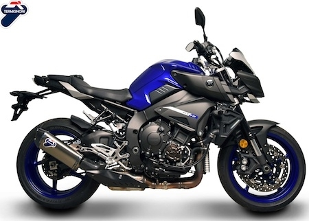 Termignoni: +2,56 chevaux et 5,8 kilos de moins pour la Yamaha MT-10