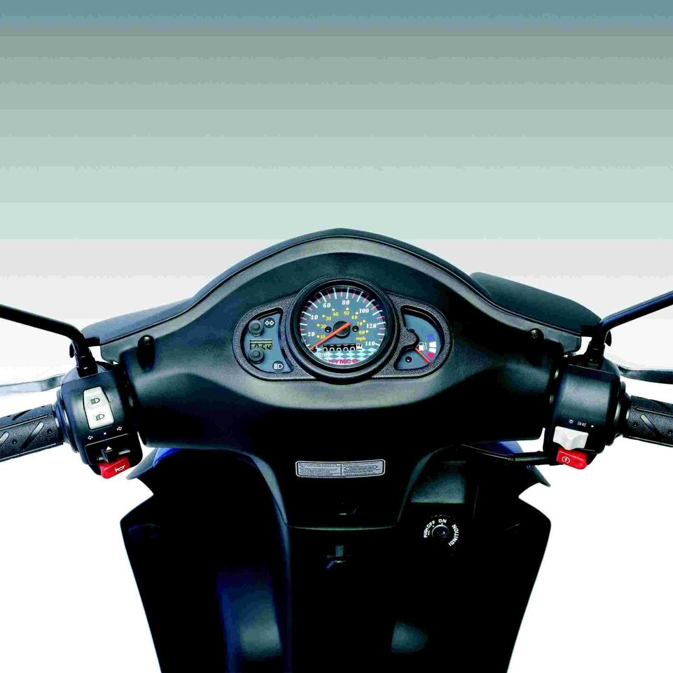 En direct du salon de la moto 2007 : Le Kymco Agility 125