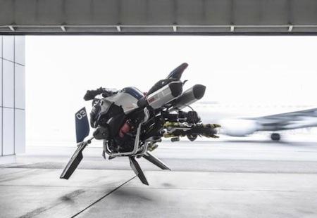 BMW et Lego: ensemble pour réaliser un concept de  R1200 GS Adventure volante...