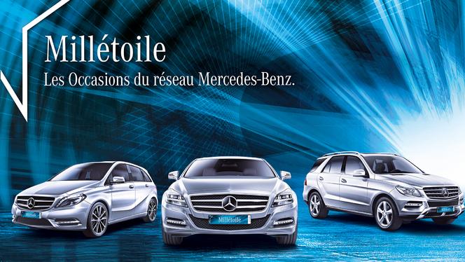 """Mercedes présente """"Millétoile"""", son désormais unique label occasion"""