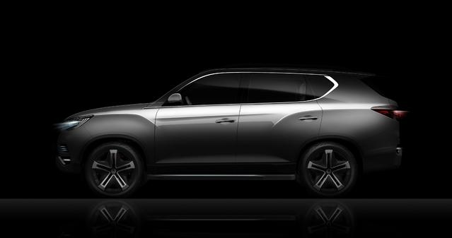 Mondial de Paris 2016 : SSangyong LIV-2 Concept : le nouveau Rexton en approche