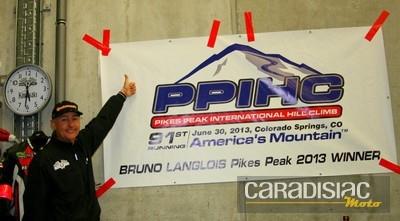 Bruno Langlois, vainqueur de Pikes Peak, au départ des 4h de Spa dans quelques minutes: interview.