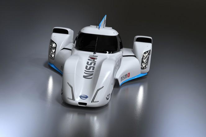 L'audacieuse Nissan ZEOD RC électrique se dévoile... de plus en plus!